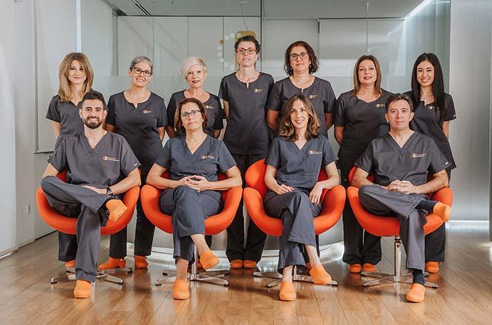 El equipo de la clínica dental en Murcia